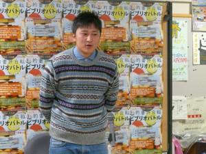 1人目は、大学院1年の菊地朋希さん。紹介本は「チルドレン・伊坂幸太郎著」。