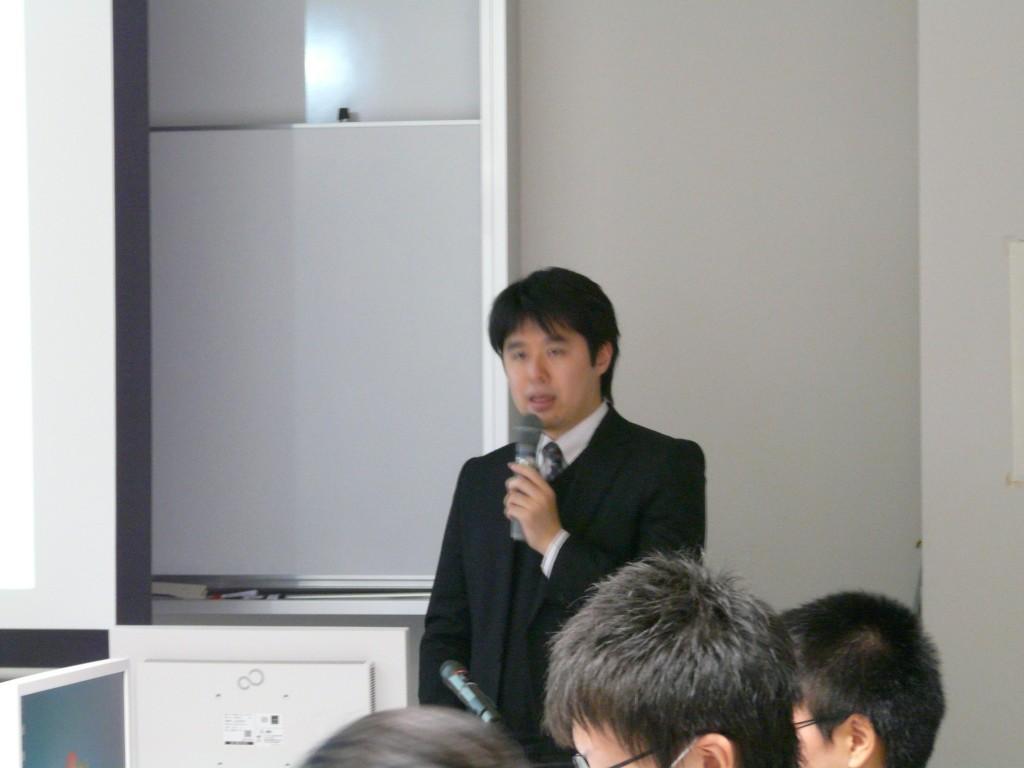 講師のユサコ株式会社広瀬聡先生